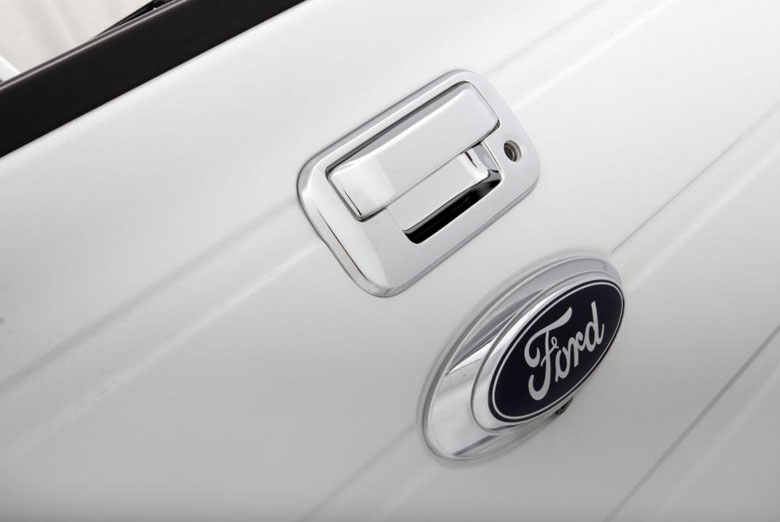 2010 Ford F-150 Chrome Tailgate Handle Covers