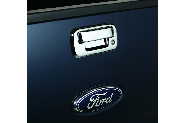 2004 Ford F-150 Chrome Tailgate Handle Covers