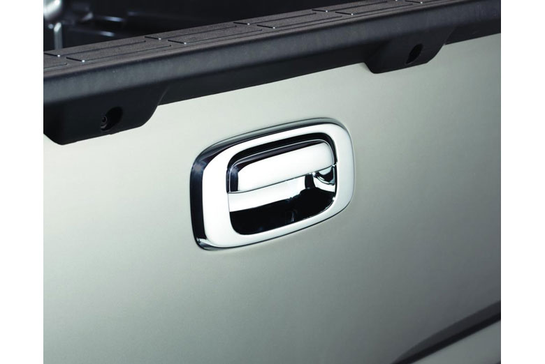 2013 GMC Sierra Chrome Tailgate Handle Covers