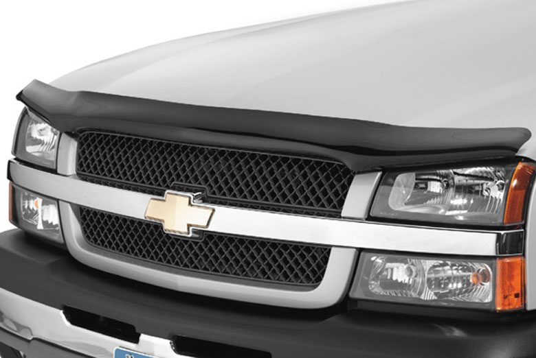 2004 Ford E-250 AVS Bugflector Smoke Hood Shield