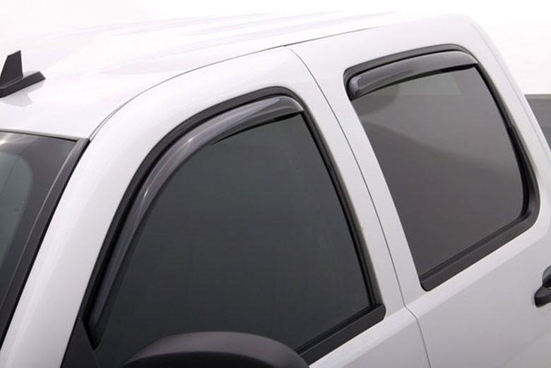 AVS Ventvisor Smoke Elite Window Visor Wind Deflectors (Double Cab)