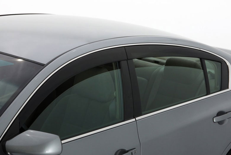 AVS Ventvisor Smoke Low Profile Window Visor Wind Deflectors (Hatchback) (Sport)