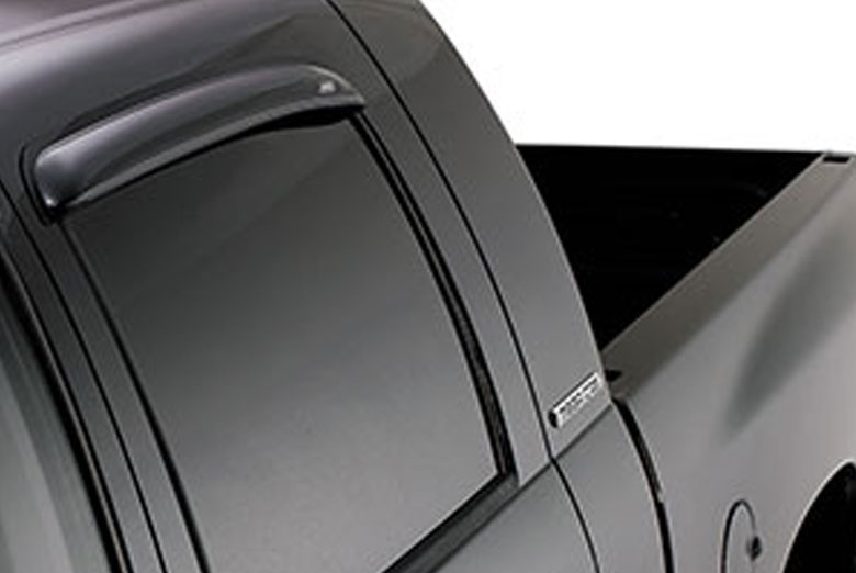 AVS Ventvisor Smoke Rear Window Visor Wind Deflectors (Extended Cab)