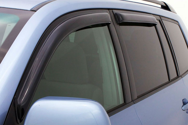 AVS Ventvisor Smoke In-Channel Window Visor Wind Deflectors (2 Door / Sport)