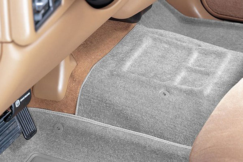 Catch-All Gray Center Hump Floor Mats W/ Front Bench Seats W/O Floor Shifter