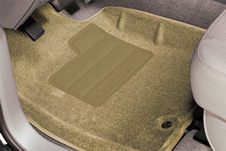 Lund Ford Edge   Catch All Camel Front Floor Mats Discontinued