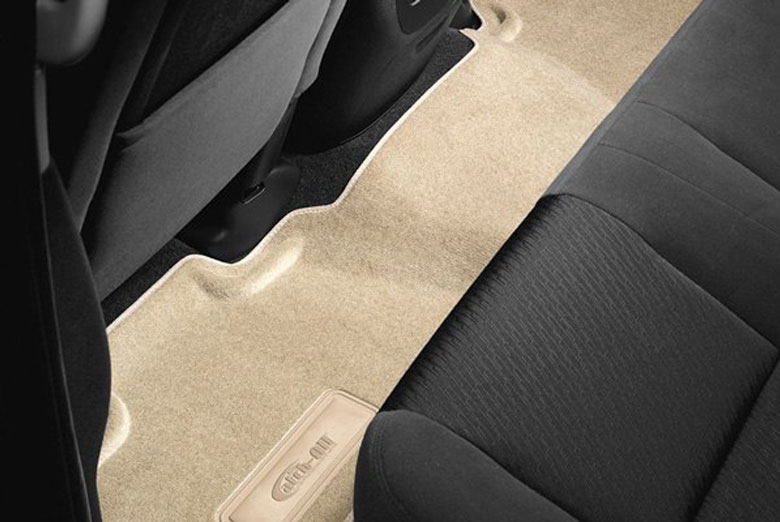 2012 Cadillac Escalade Catch-All Cashmere Second Row Floor Mats