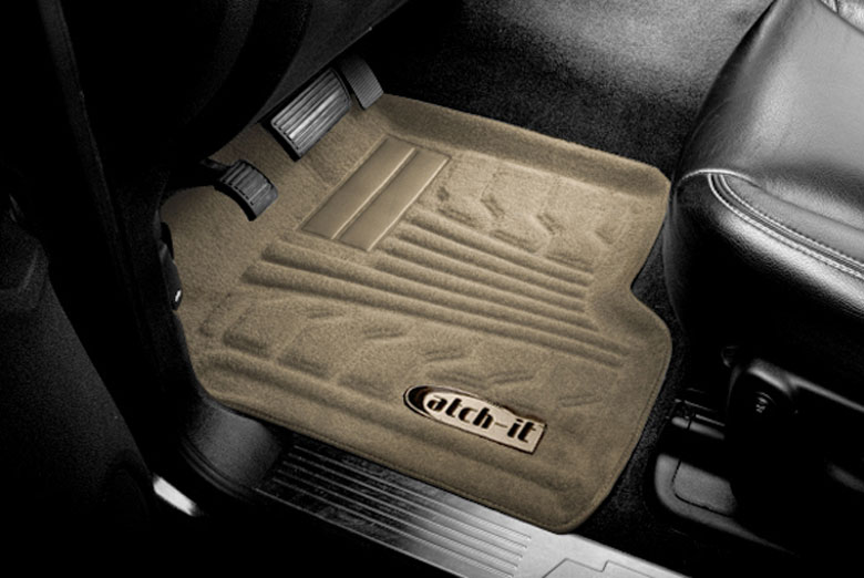 2008 Volkswagen Passat Catch-It Tan Carpet Front Floor Mats