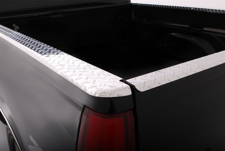 1996 Ford PickUp Diamond Plate Bed Rail Cap