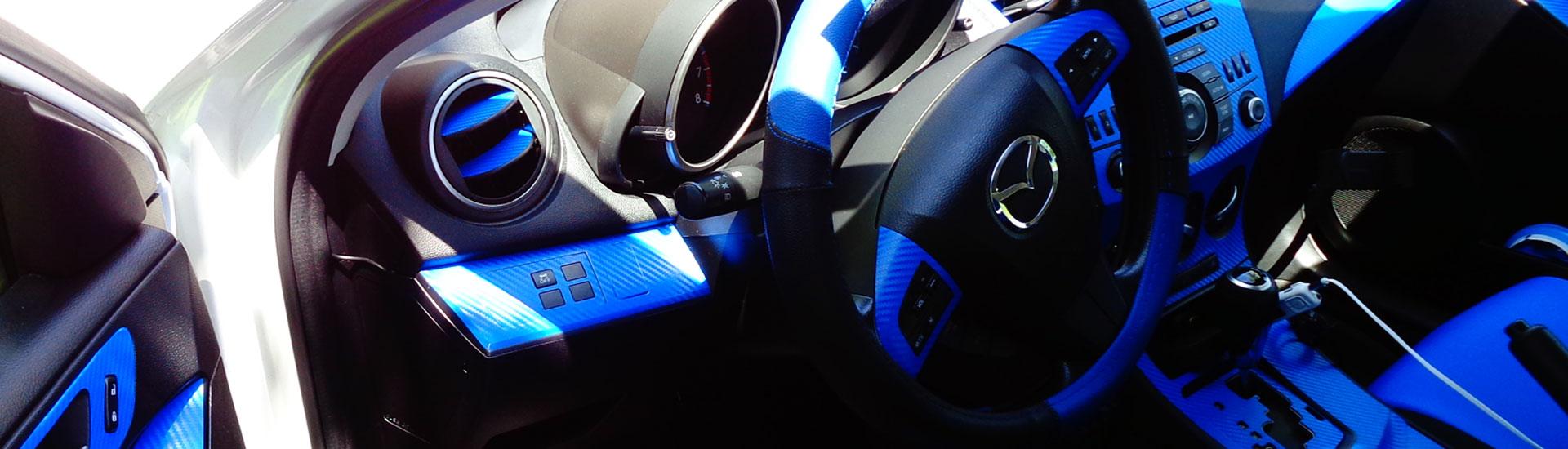 2017 mazda 3 blue light on dash