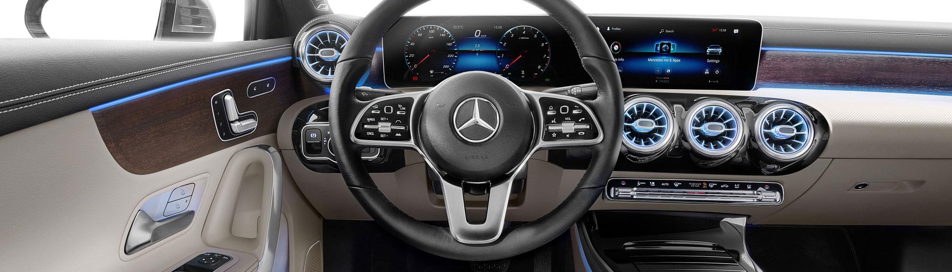 HKPKYK Decoraci/ón del aire acondicionado,Para Mercedes Benz Clase A W177 2019-2020 etiqueta adhesiva Decoraci/ón del marco de salida de aire acondicionado del coche
