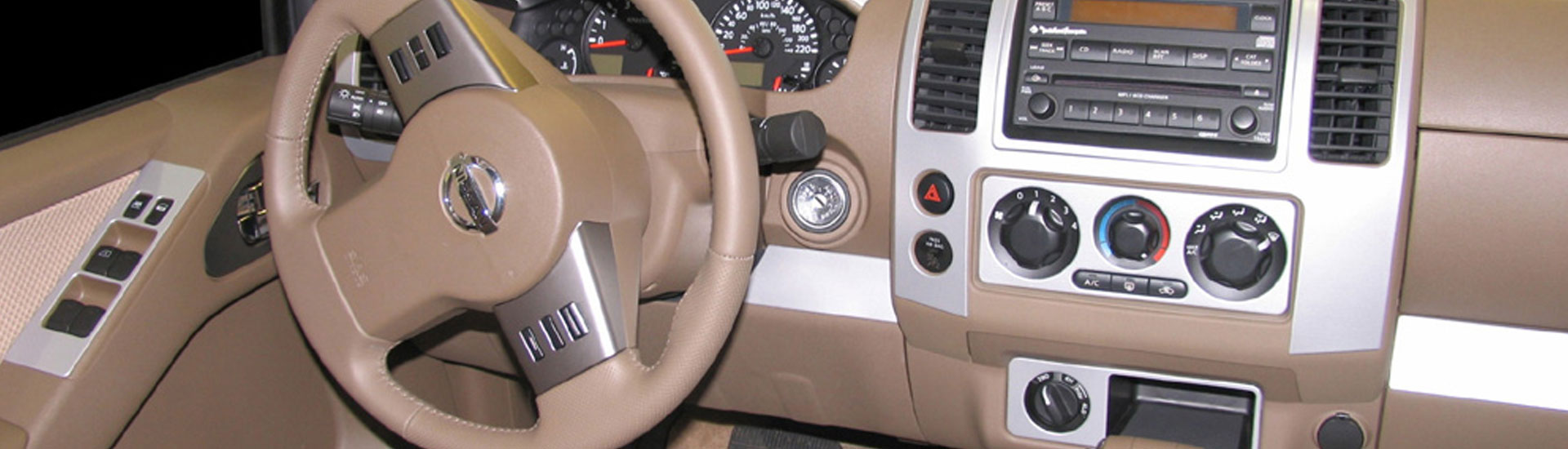 Nissan Frontier Custom Dash Kits