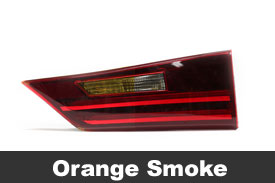 Orange Tail Light Tint Film