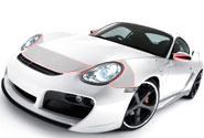 2004 Porsche Boxster Hood Paint Protection Kits
