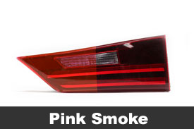 Pink Tail Light Tint Film