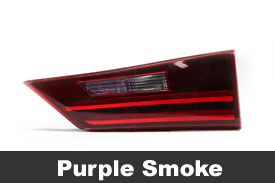 Purple Tail Light Tint Film