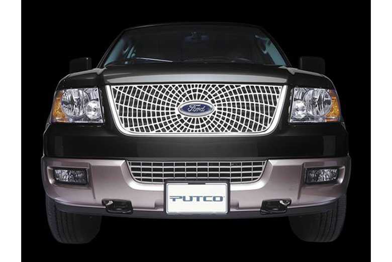 2007 GMC Canyon Liquid Spider Web Grille