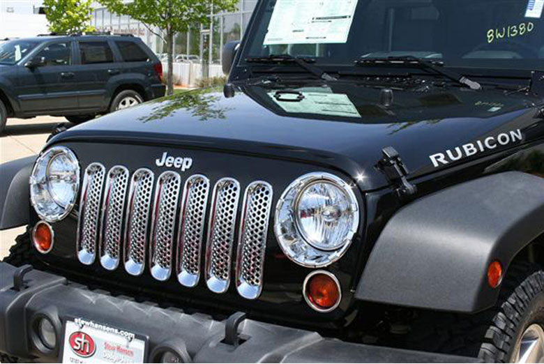 2012 Jeep Wrangler Trim Grille Covers