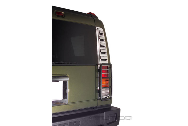 2005 Hummer H2 Tail Light Bezels