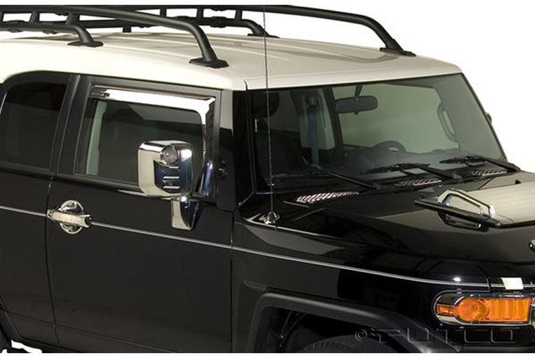 2011 Toyota FJ Cruiser Element Window Visors