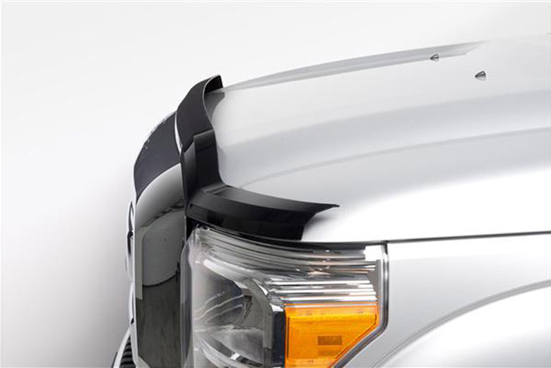 2012 Ford F-350 Element Tinted Hood Shields