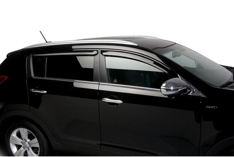 2011 Kia Sportage Wind Deflectors Window Visors Rain