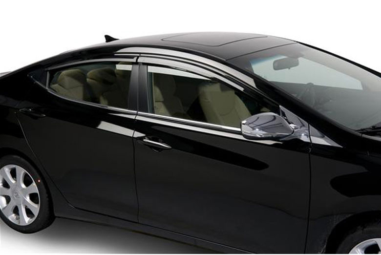 2013 Hyundai Elantra Element Tinted Window Visors