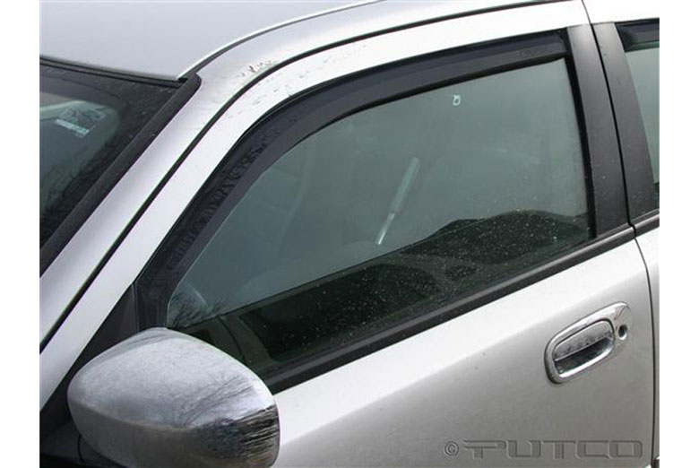 2010 Dodge Charger Element Tinted Window Visors