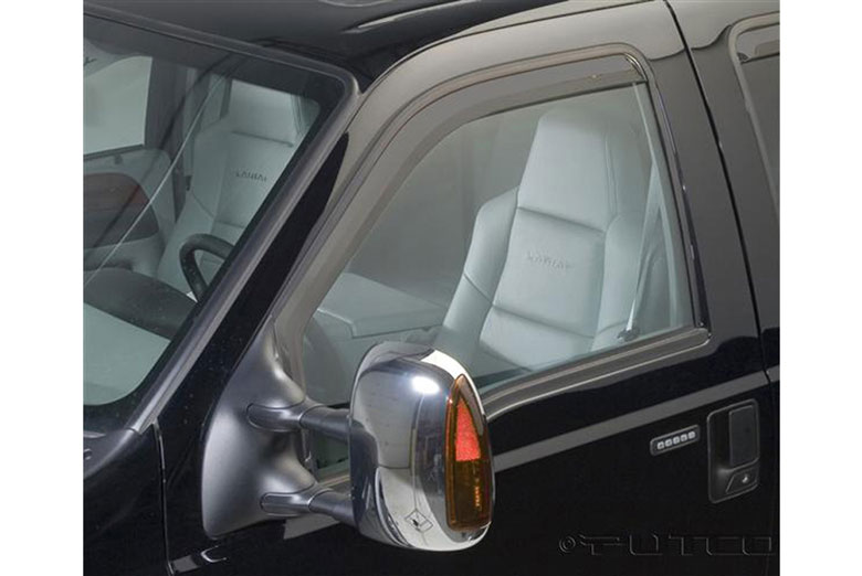 2001 Ford F-350 Element Tinted Window Visors