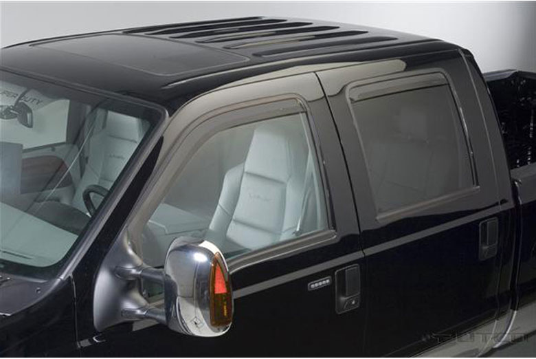 2014 Ford F-350 Element Tinted Window Visors
