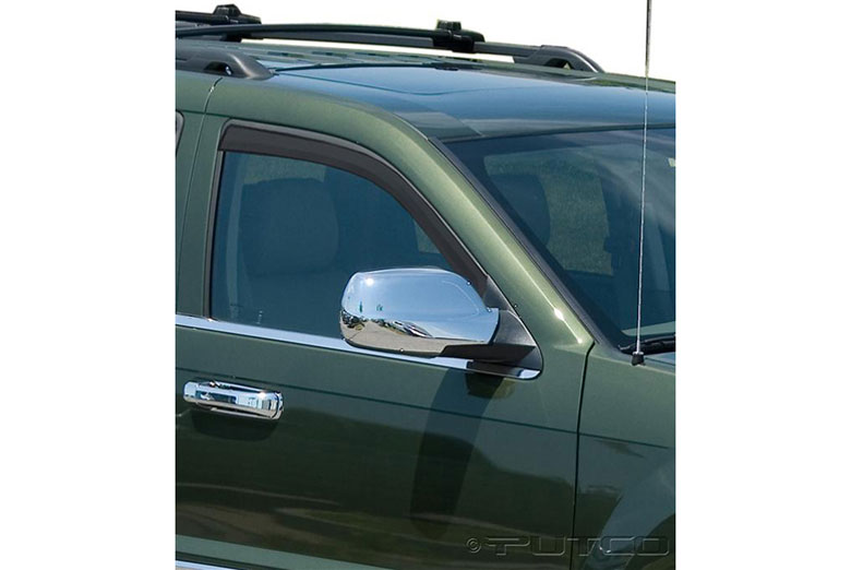 2010 Jeep Grand Cherokee Element Tinted Window Visors