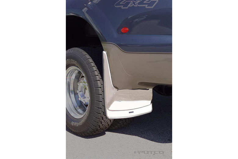 2008 Ford F-250 Form Fitted Rear Mud Skins