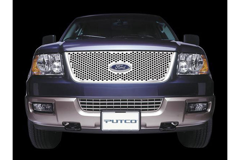 1999 Ford F-150 Punch Honeycomb Grille