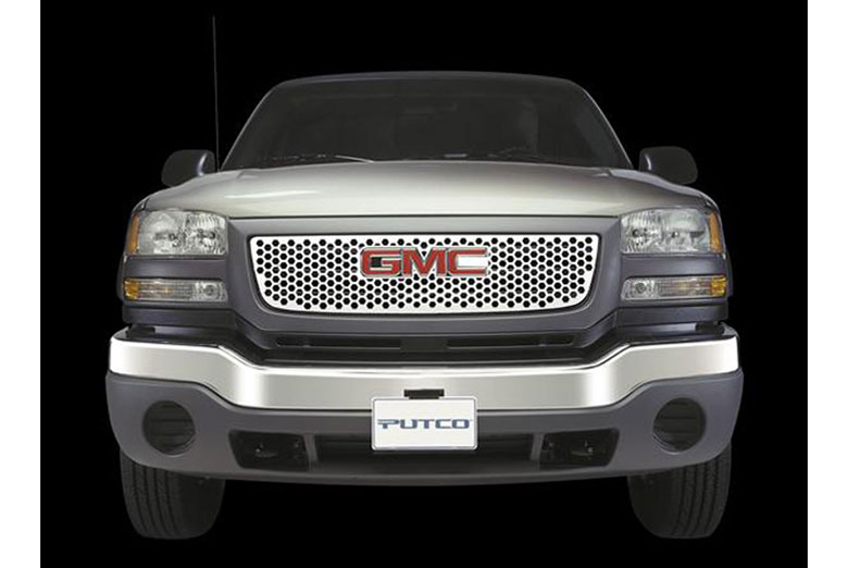 2007 GMC Canyon Punch Grille