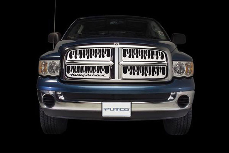1999 GMC Yukon Flaming Inferno Grille