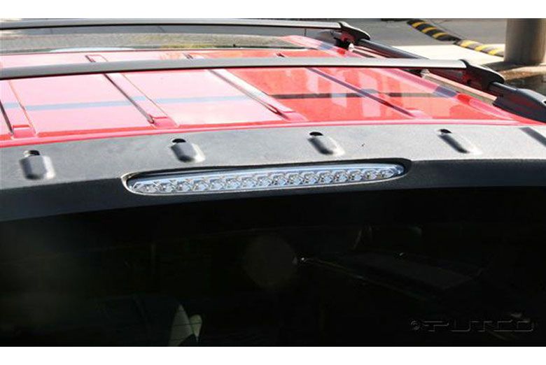 2014 Chevrolet Avalanche LED Clear Third Brake Lights
