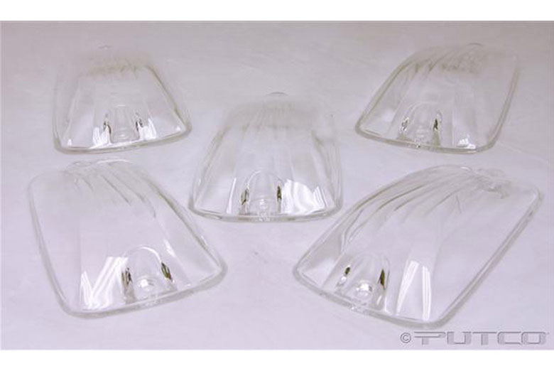 2000 GMC Sierra Clear Roof Lamps Lenses