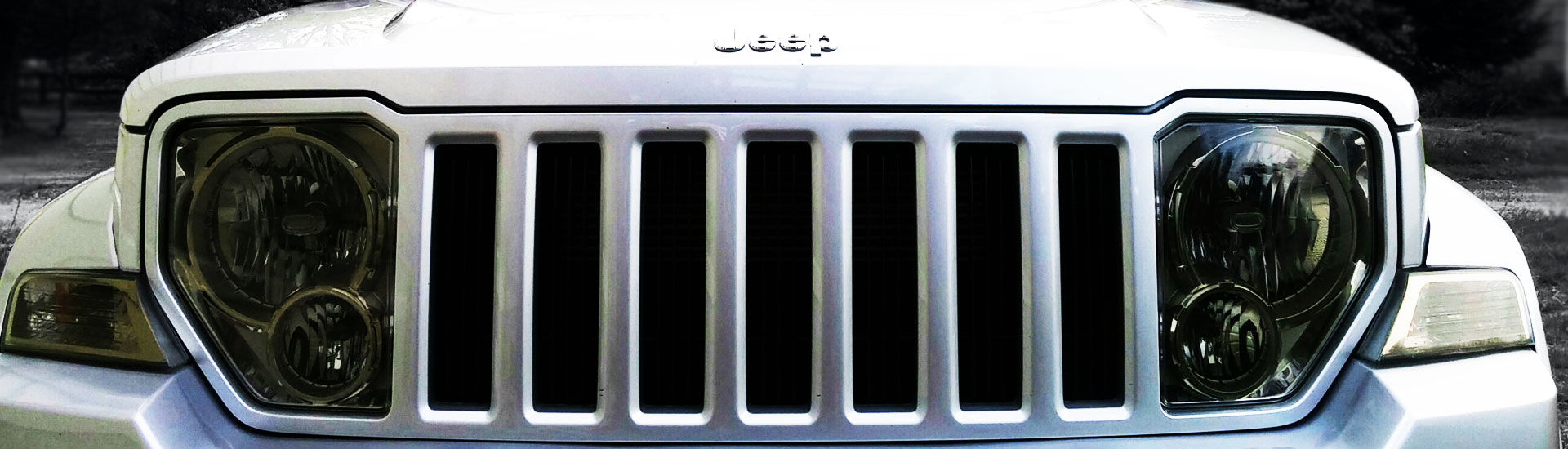 Jeep Liberty Headlight Tint Covers
