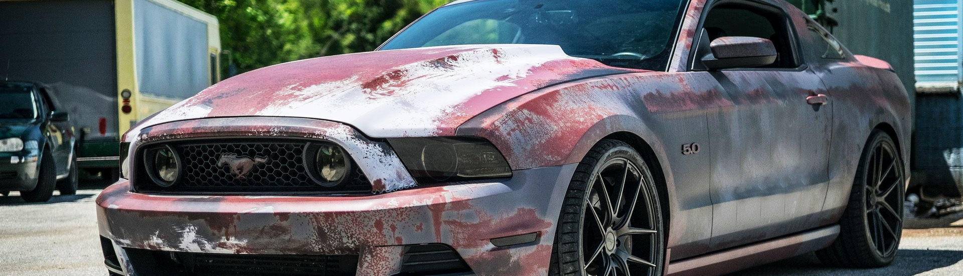 Rust Car Wrap Films