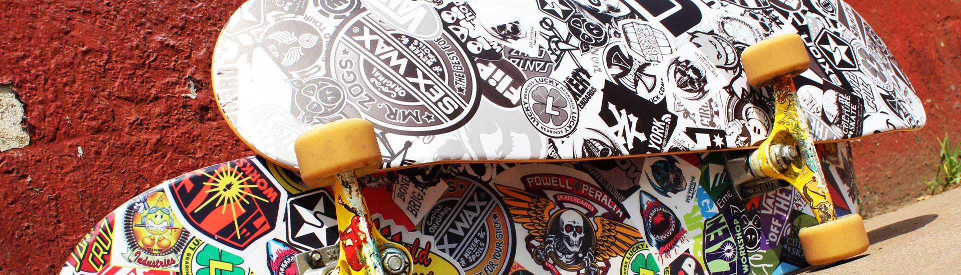 Skateboard Graphic Vinyl Skins