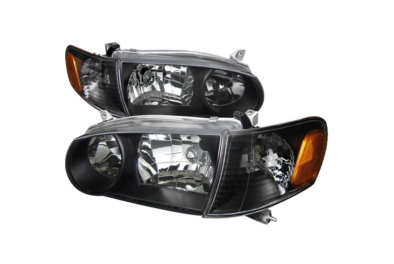 2001 Toyota Corolla Aftermarket Headlights