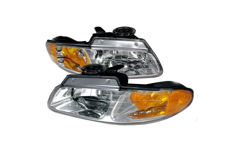 1996 Dodge Caravan Aftermarket Headlights