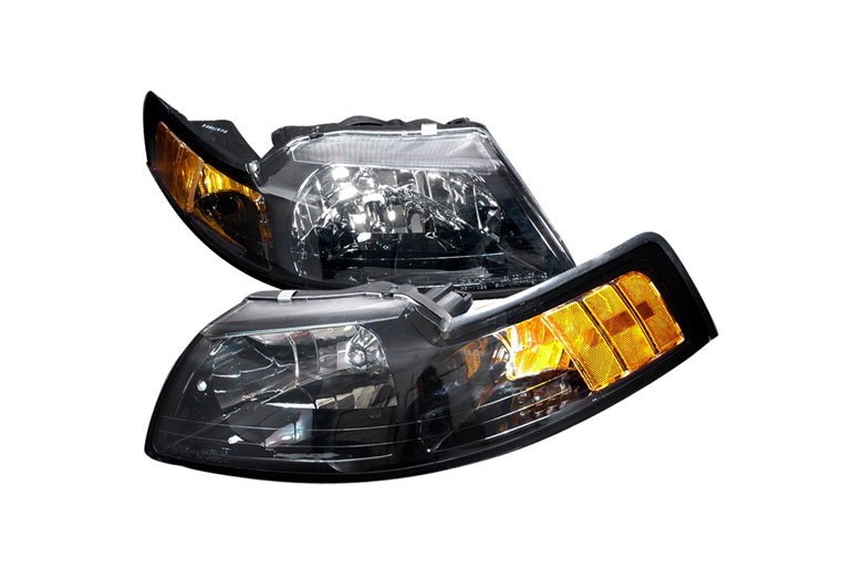 2001 Ford Mustang Aftermarket Headlights