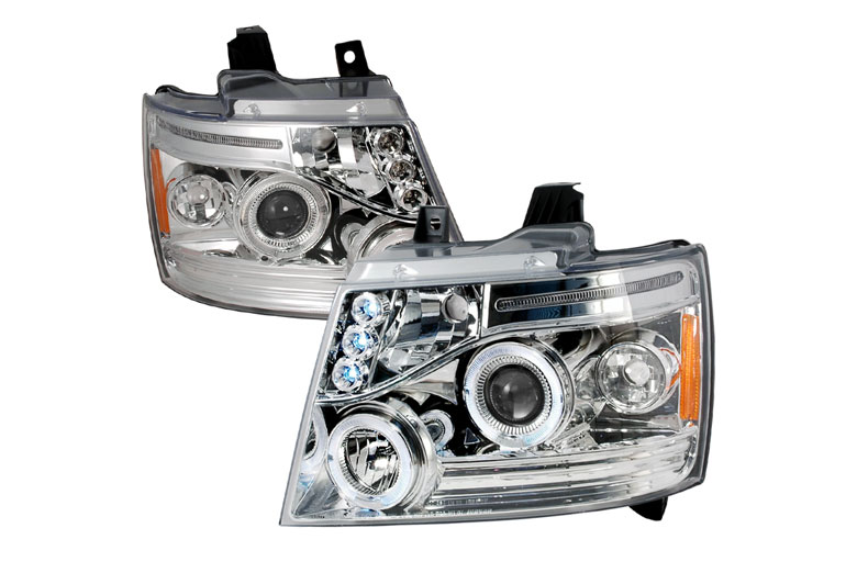 2008 Chevrolet Avalanche Aftermarket Headlights