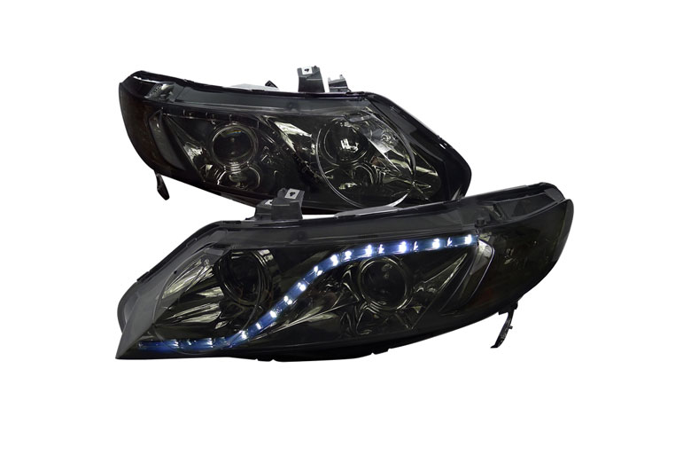 2008 Honda Civic Aftermarket Headlights