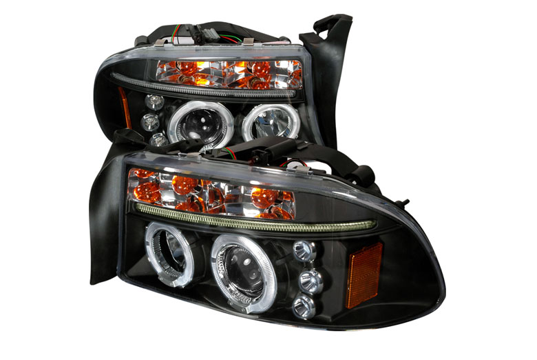 1997 Dodge Dakota Aftermarket Headlights