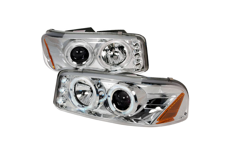 2006 GMC Sierra Aftermarket Headlights