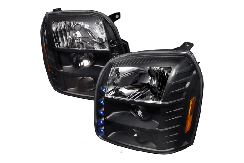 2008 GMC Sierra Custom Headlights  Aftermarket Headlights
