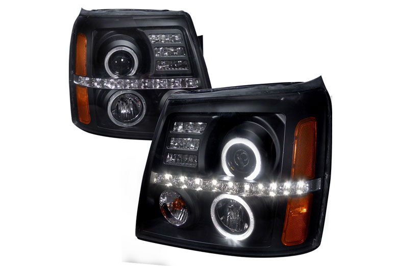2003 Cadillac Escalade Aftermarket Headlights