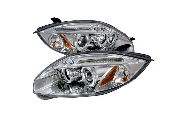 2011 Mitsubishi Eclipse Aftermarket Headlights